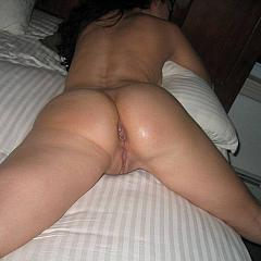 Anal creampie.